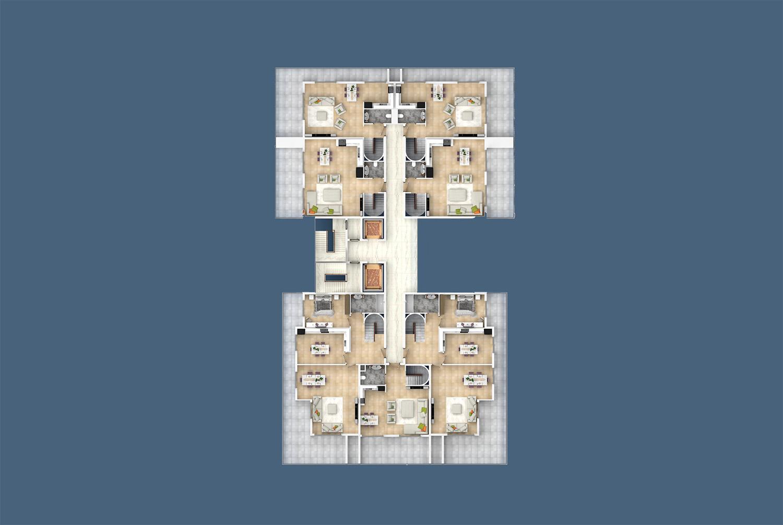 Kat 12 duplex