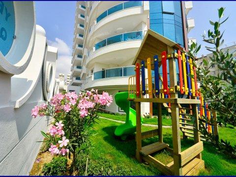 Family-friendly apartment in Mahmutlar, Alanya